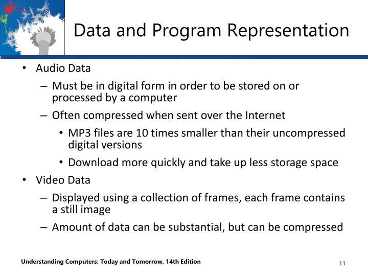 Data and Program Representation