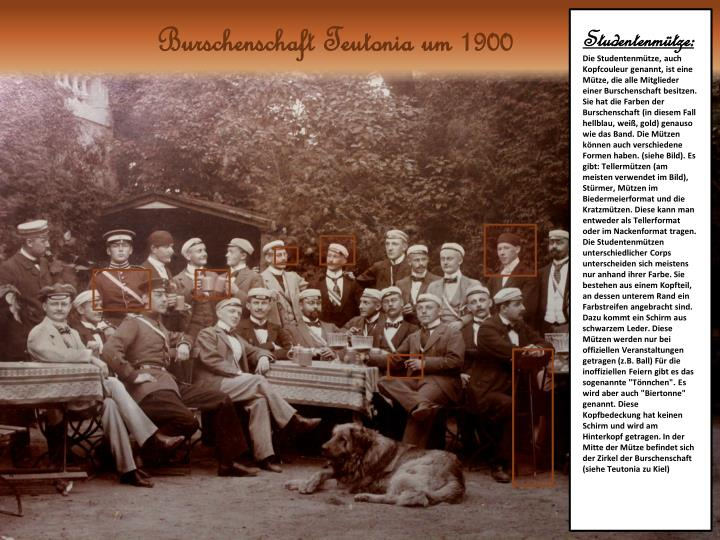 Burschenschaft Teutonia um 1900
