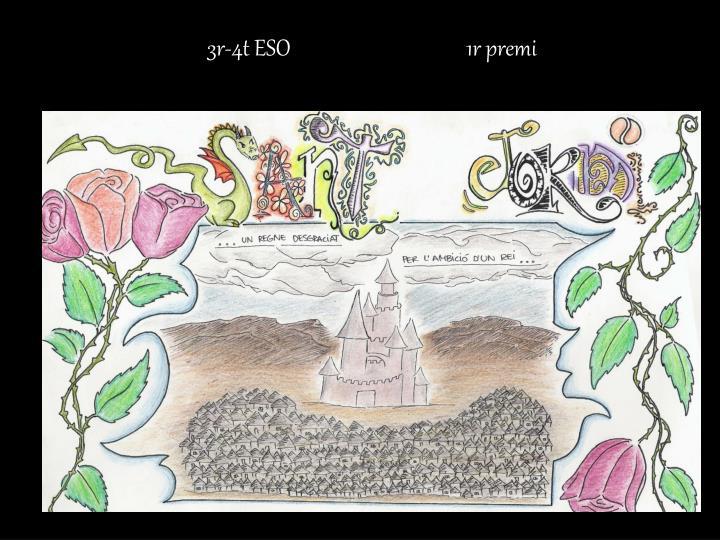 3r-4t ESO                                    1r premi