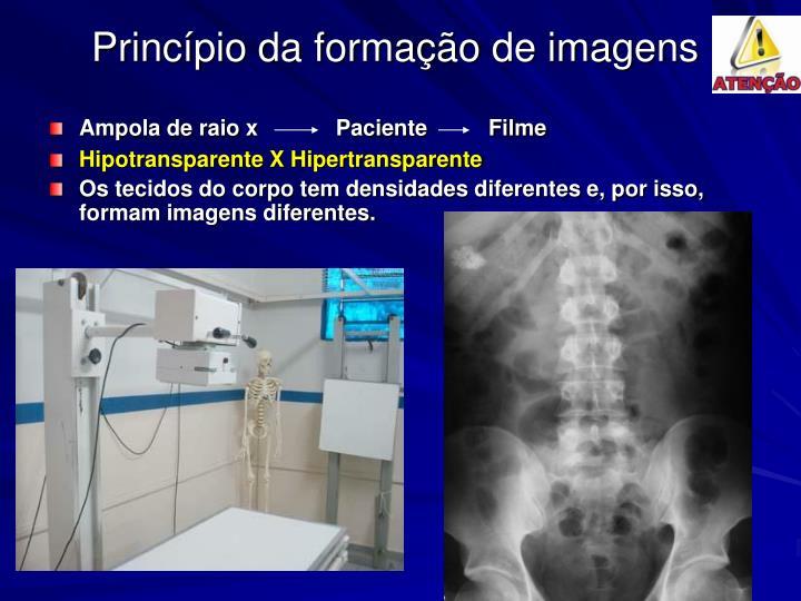 Princípio da formação de imagens