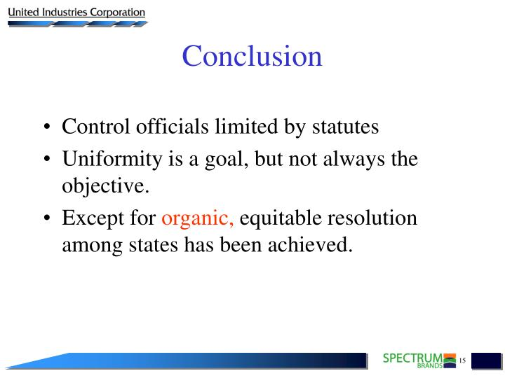 Control officials limited by statutes