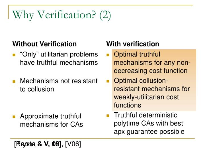Why Verification? (2)
