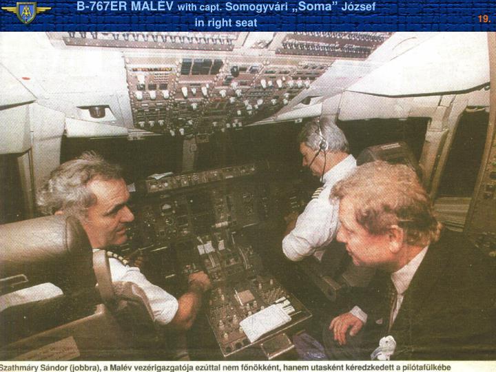 B-767ER MALÉV