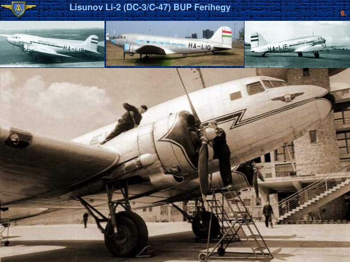 Lisunov Li-2 (DC-3/C-47) BUP Ferihegy