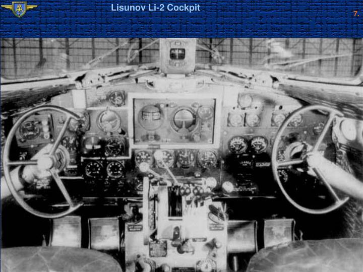 Lisunov Li-2 Cockpit