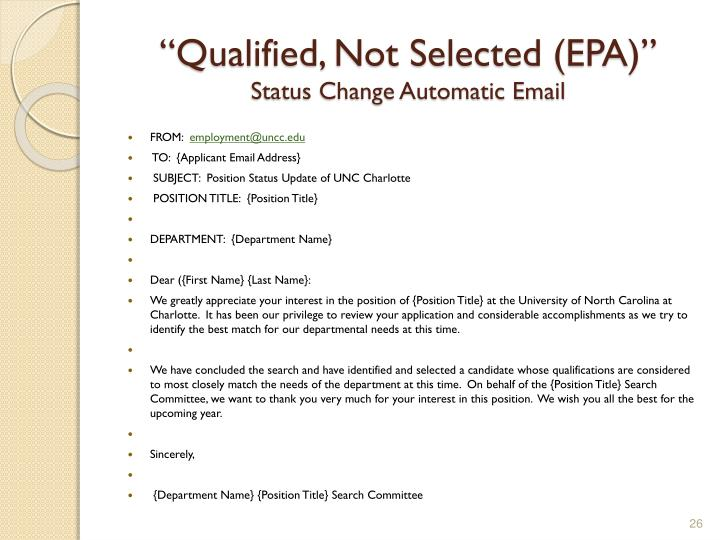 """Qualified, Not Selected (EPA)"""