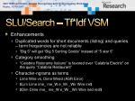 slu search tf idf vsm1