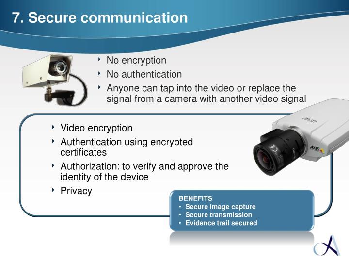 Video encryption