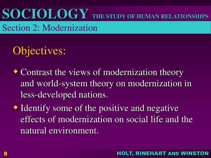 Section 2: Modernization