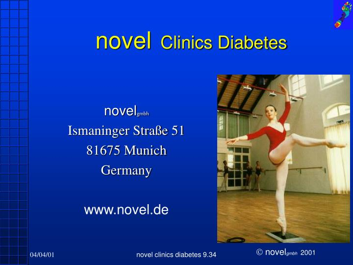 Novel clinics diabetes