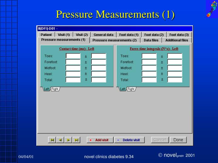 Pressure Measurements (1)