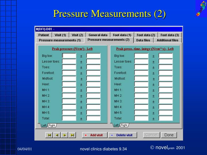 Pressure Measurements (2)