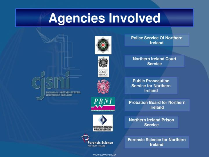 Agencies involved
