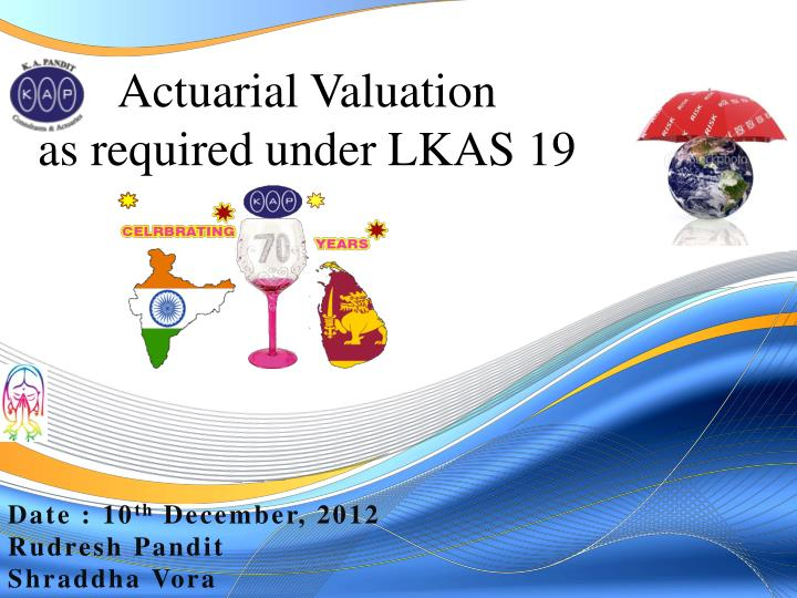 actuarial valuation as required under lkas 19