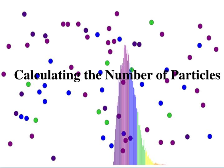 Calculating the Number of Particles