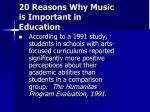 20 reasons why music is important in education10