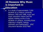 20 reasons why music is important in education11