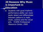 20 reasons why music is important in education15