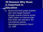 20 reasons why music is important in education19