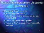 flexible reimbursement accounts continued1