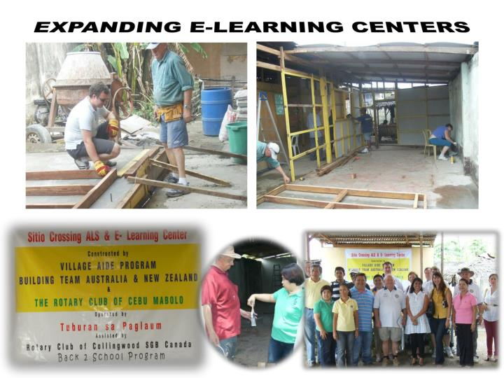 EXPANDING E-LEARNING CENTERS
