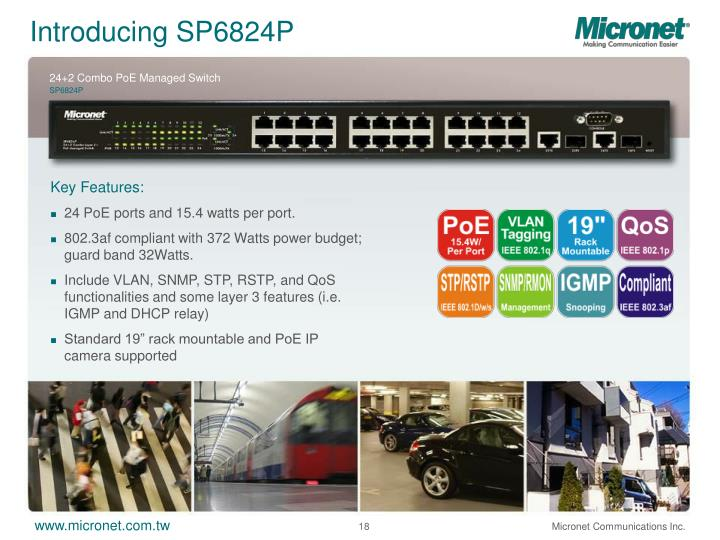 Introducing SP6824P