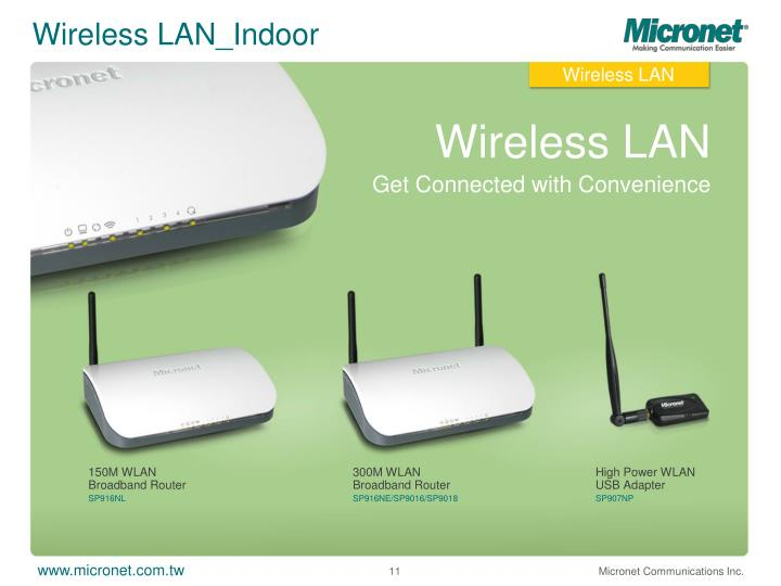 Wireless LAN_Indoor