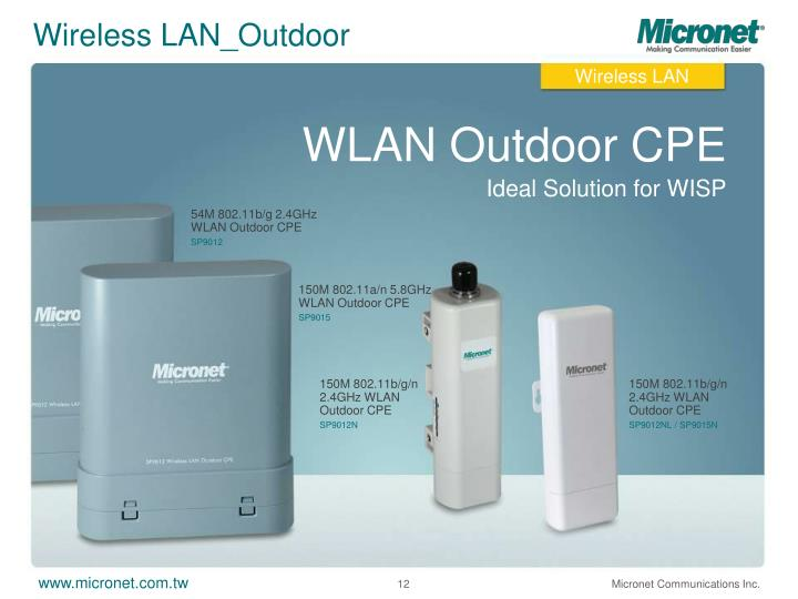 Wireless LAN_Outdoor