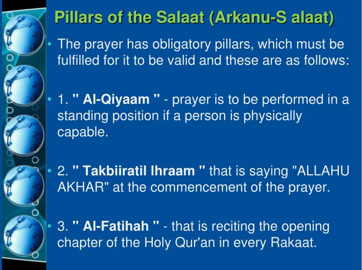 Pillars of the