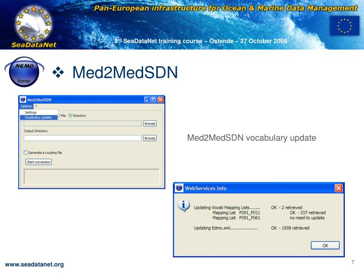 Med2MedSDN