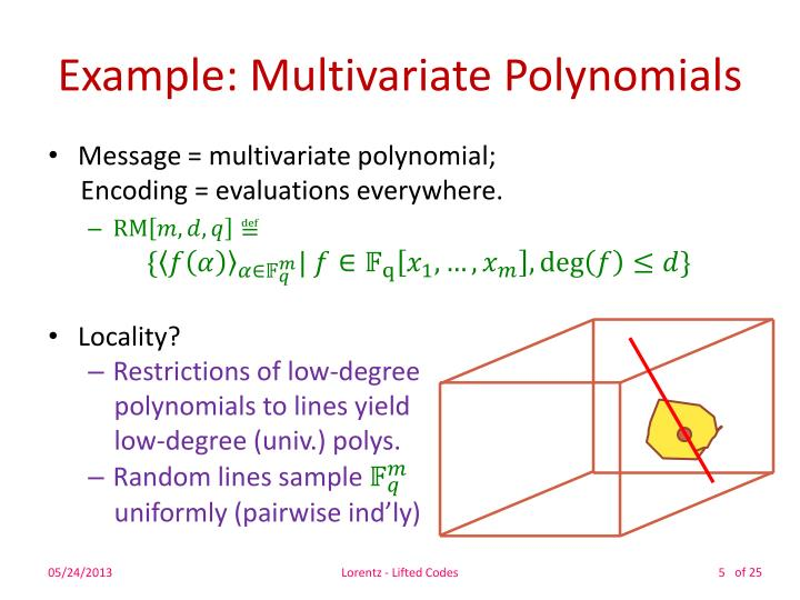 Example: Multivariate Polynomials