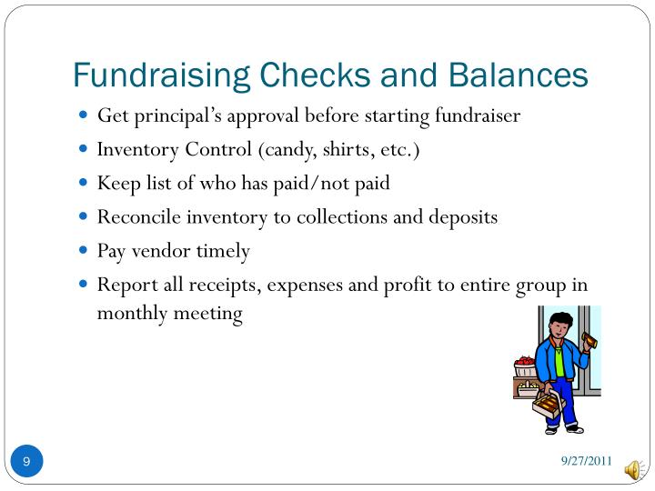 Fundraising Checks and Balances