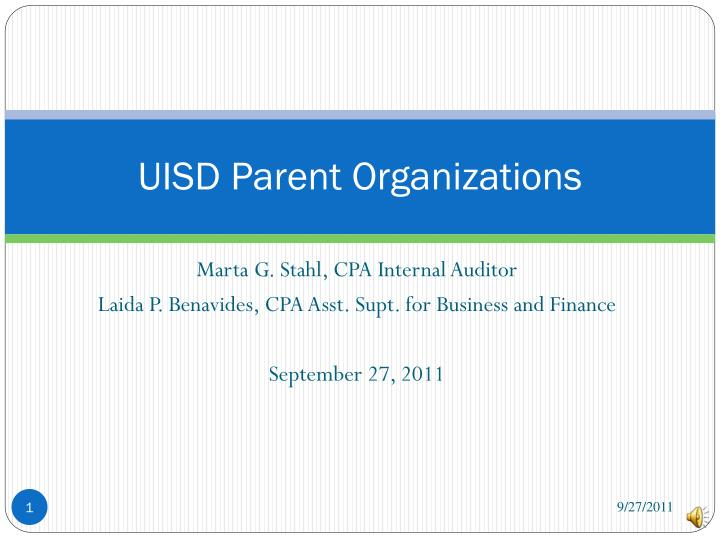 Uisd parent organizations
