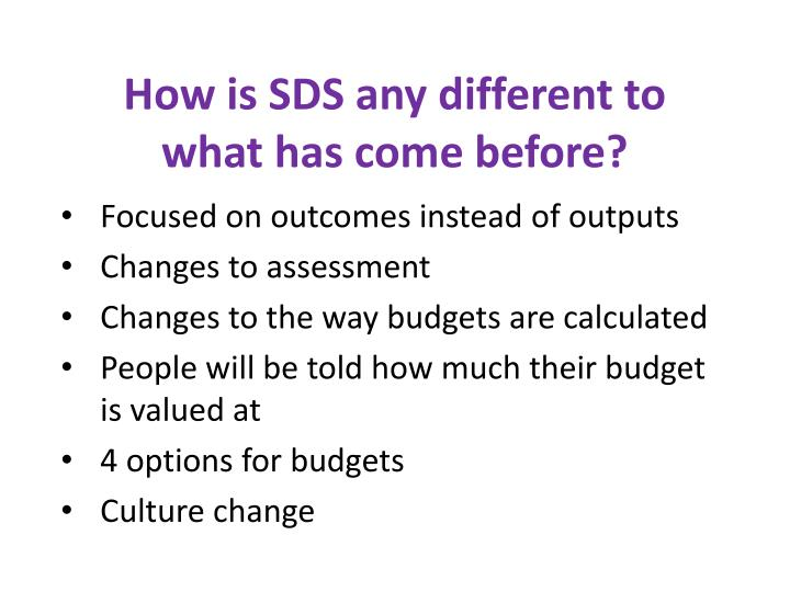 How is SDS any different to what has come before?