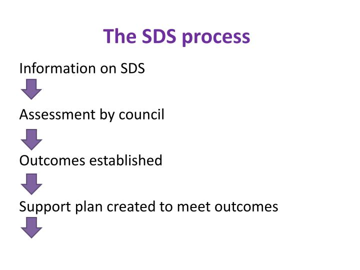 The SDS process
