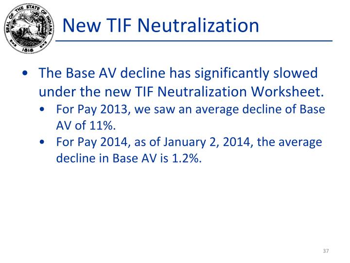 New TIF Neutralization