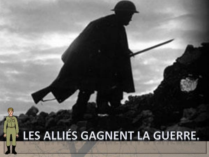 Août-novembre 1918 :