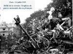 l e 28 juin 1919 l e trait de versailles l alsace et la lorraine reviennent la france