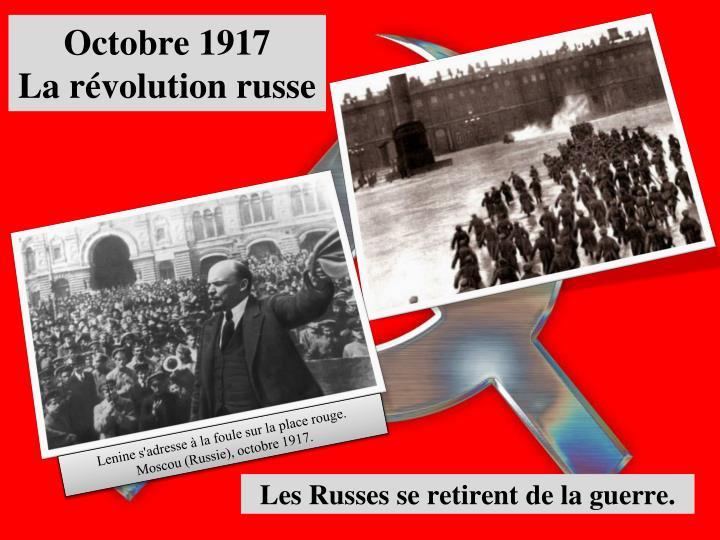 Octobre 1917