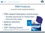 pbn products t o assist with implementation