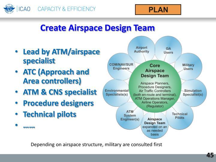Create Airspace Design Team