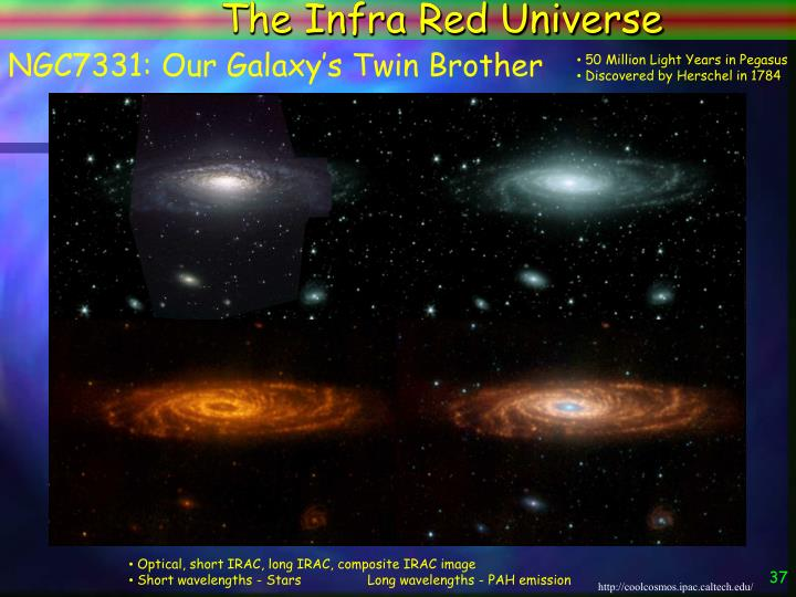 The Infra Red Universe