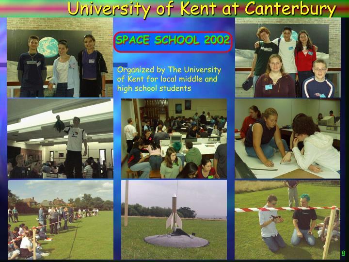 University of Kent at Canterbury