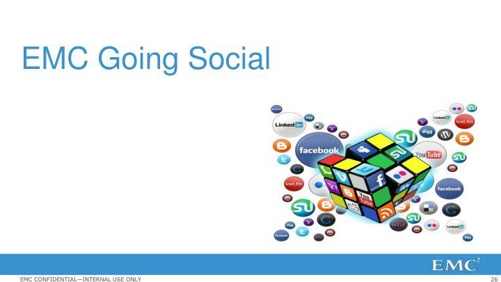 EMC Going Social