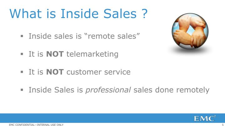 What is Inside Sales ?