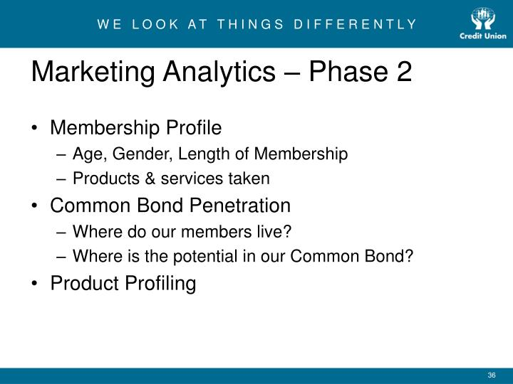 Marketing Analytics – Phase 2