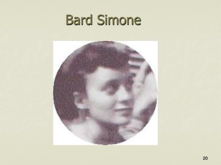 Bard Simone