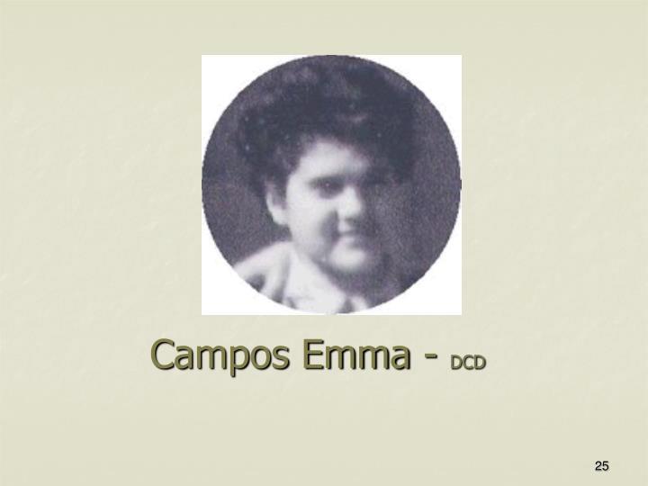 Campos Emma -