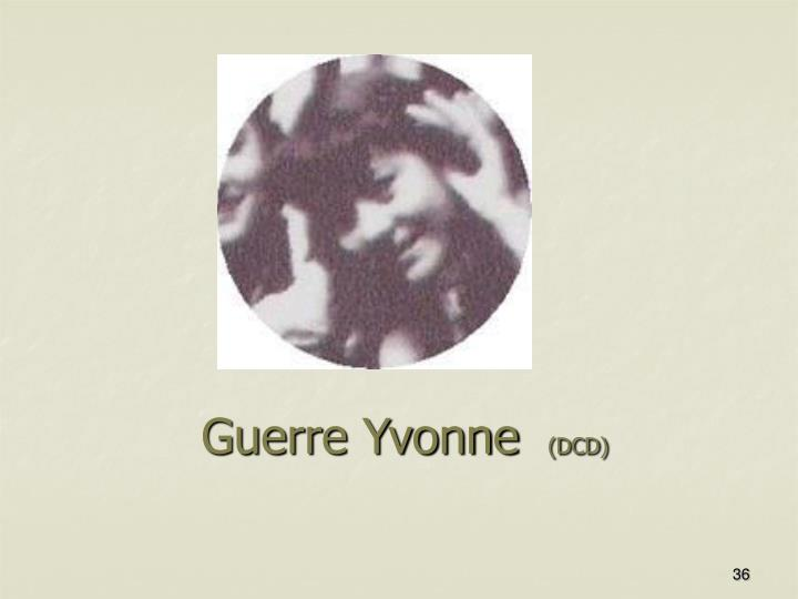 Guerre Yvonne
