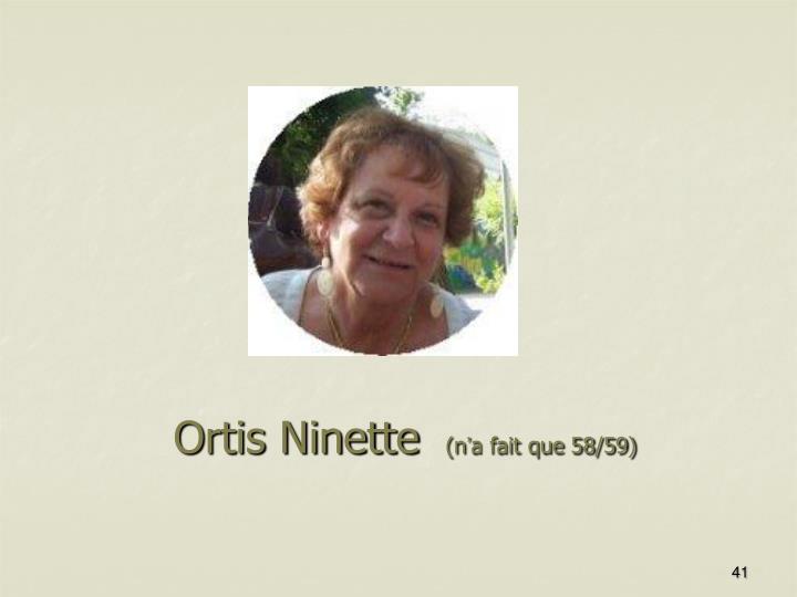 Ortis Ninette